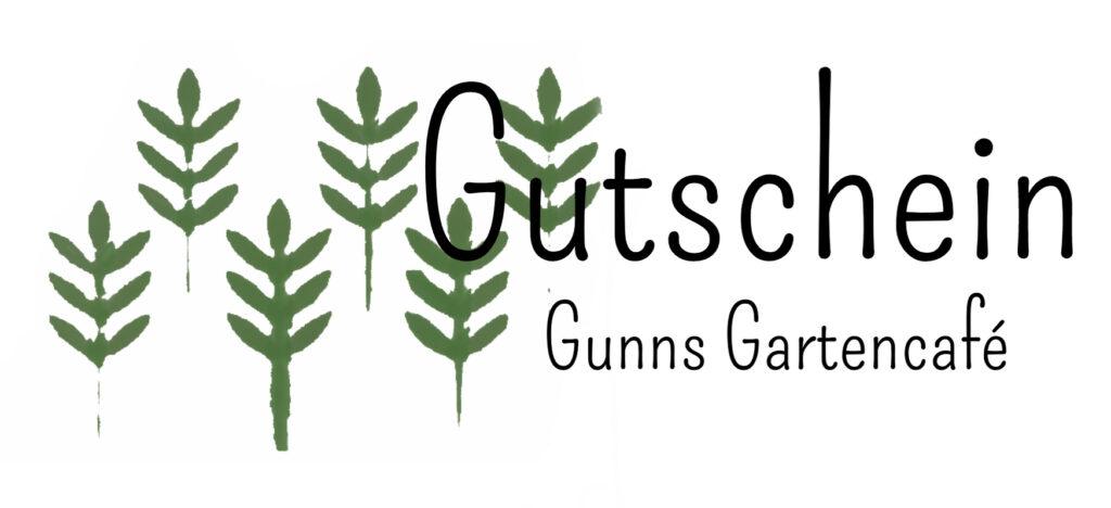 Gutschein Gunns Kuchen Gartencafé
